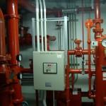 SPポンプ及び警報盤関連 電気工事